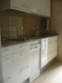 De rechterzijde van de keuken